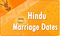Hindu Marriage Dates